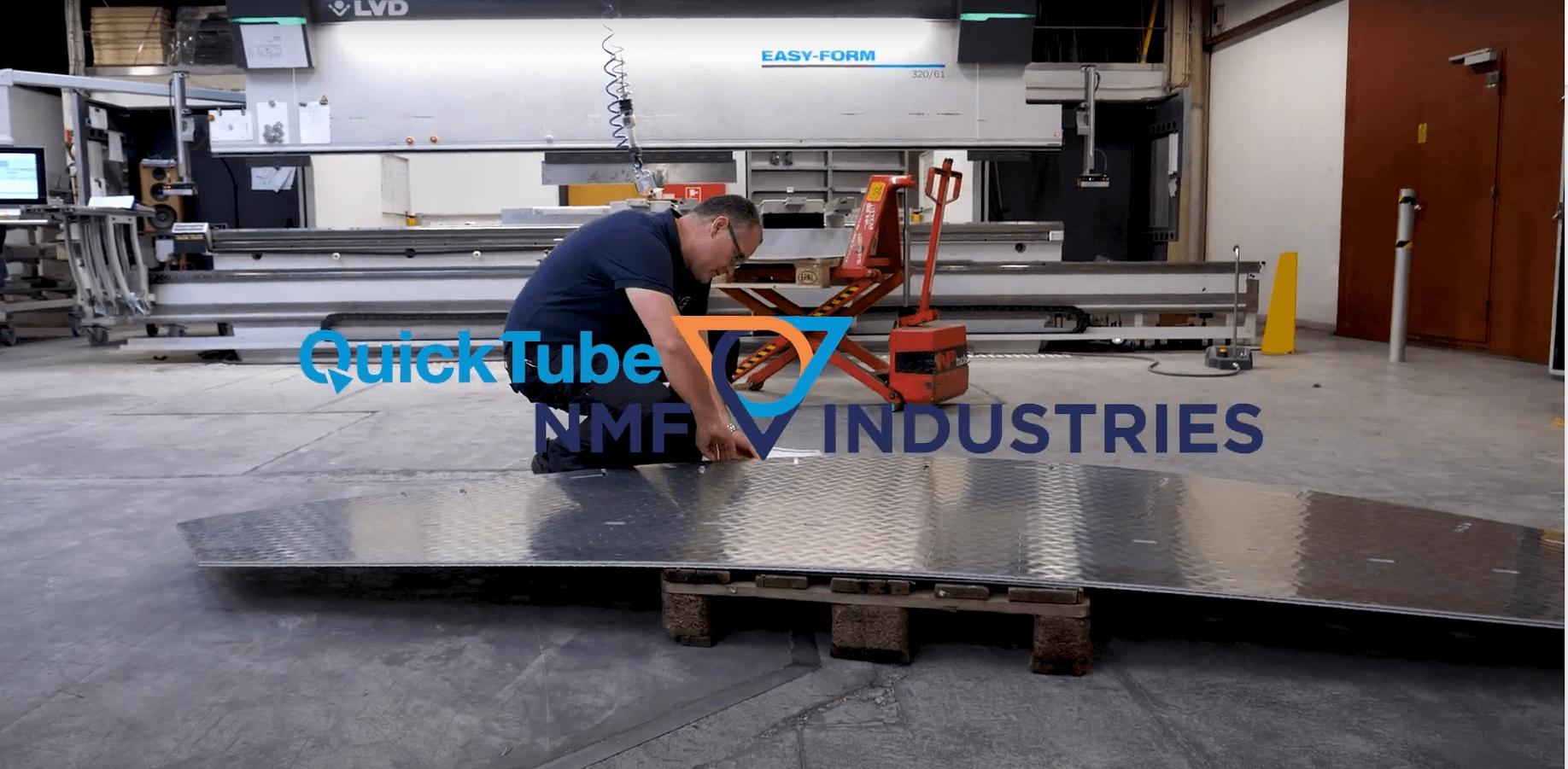 QuickTube NMF Industries kan levere pladebearbejdning til hele industrien