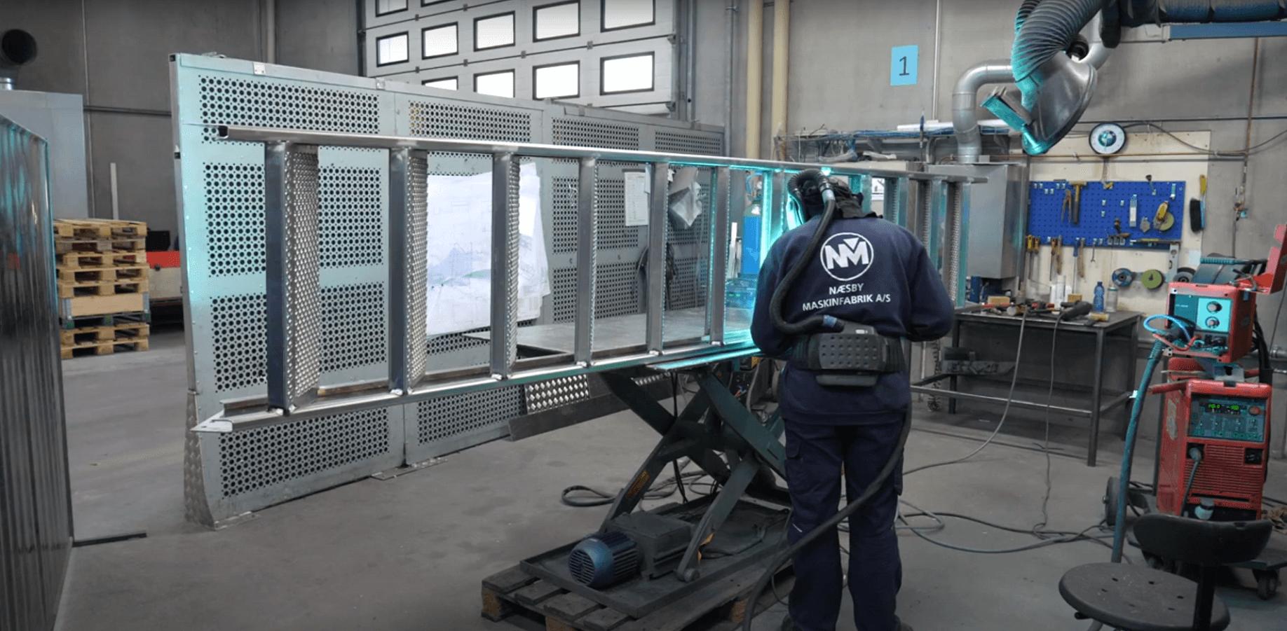 Sammensvjesning af alle typer stål, jern og metaller