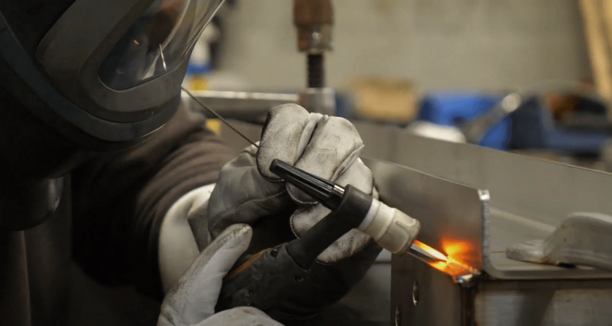 svejseløsninger i rustfrit stål